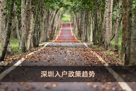 深圳入户政策趋势