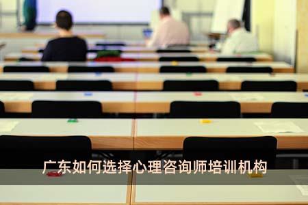 广东如何选择心理咨询师培训机构