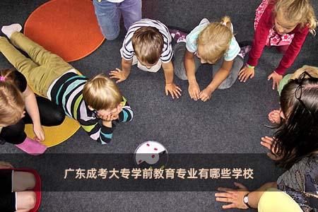 广东成考大专学前教育专业有哪些学校