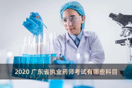2020广东省执业药师考试有哪些科目