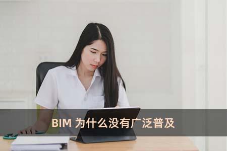 BIM为什么没有广泛普及