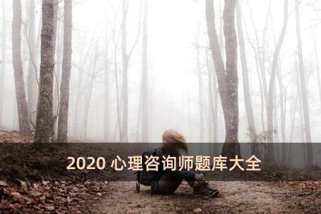 2020心理咨询师题库大全