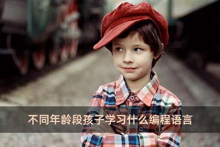 不同年龄段孩子学习什么编程语言
