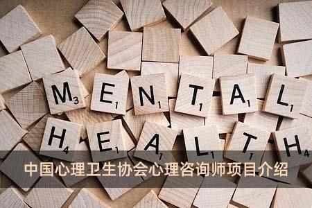 中国心理卫生协会心理咨询师项目介绍