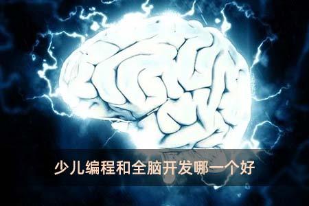 少儿编程和全脑开发哪一个好